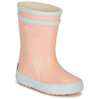 Čevlji  Deklice škornji za dež  Aigle BABY FLAC Rožnata