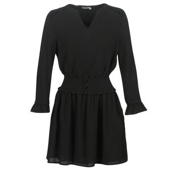 Oblačila Ženske Kratke obleke Kaporal DOLLI Črna