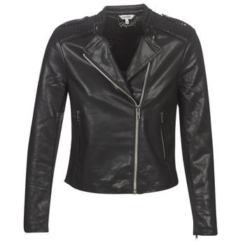 Oblačila Ženske Usnjene jakne & Sintetične jakne Kaporal XUT Črna