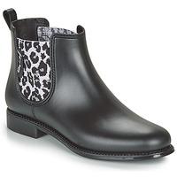 Čevlji  Ženske škornji za dež  Be Only DAKAR Črna