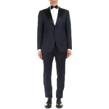 Oblačila Moški Obleka Kiton UASM861K07R1504001 Blue
