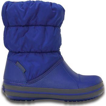 Čevlji  Otroci škornji za dež  Crocs Crocs™ Kids' Winter Puff Boot 35