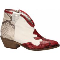 Čevlji  Ženske Gležnjarji Le Pure  bianco-roccia-rosso