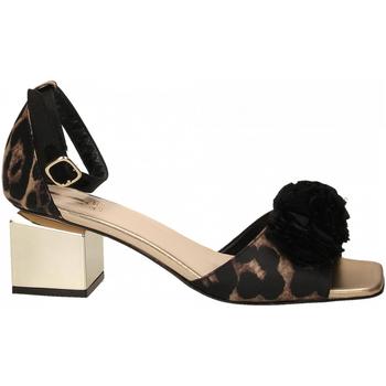 Čevlji  Ženske Sandali & Odprti čevlji Jeannot SCARPE D platino---nero