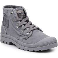 Čevlji  Moški Visoke superge Palladium Manufacture Lifestyle shoes  US Pampa Hi Titanium 92352-011-M grey