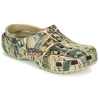 Čevlji  Moški Cokli Crocs CLASSIC REALTREE Kaki