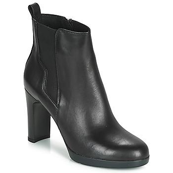 Čevlji  Ženske Gležnjarji Geox D ANNYA HIGH Črna