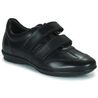 Čevlji  Moški Čevlji Derby Geox UOMO SYMBOL Črna