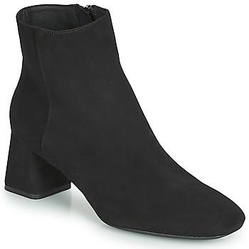 Čevlji  Ženske Gležnjarji Geox D SEYLA Črna