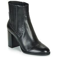 Čevlji  Ženske Gležnjarji Geox D JACY HIGH Črna