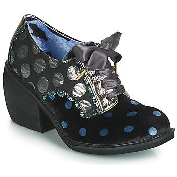 Čevlji  Ženske Gležnjarji Irregular Choice TIPPLE Črna