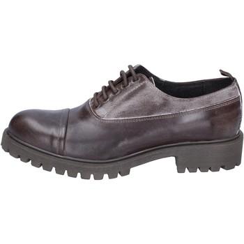Čevlji  Moški Čevlji Derby & Čevlji Richelieu Ossiani classiche pelle camoscio Marrone