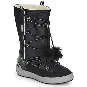 Čevlji  Deklice Škornji za sneg Geox J SLEIGH GIRL B ABX Črna