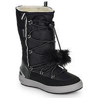 Čevlji  Deklice Mestni škornji    Geox J SLEIGH GIRL B ABX Črna