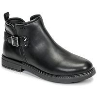 Čevlji  Deklice Polškornji Geox J ECLAIR GIRL Črna