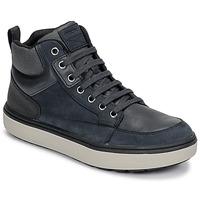 Čevlji  Dečki Visoke superge Geox J MATTIAS B BOY ABX Modra / Črna