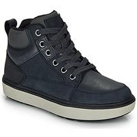 Čevlji  Dečki Visoke superge Geox J MATTIAS B BOY ABX Modra / Črna / Waterproof