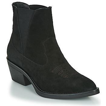 Čevlji  Ženske Gležnjarji Les Petites Bombes IRINA Črna