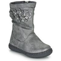 Čevlji  Deklice Mestni škornji    Chicco CLEDIA Siva