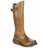 Čevlji  Ženske Mestni škornji    Fly London MOL 2 Kamel