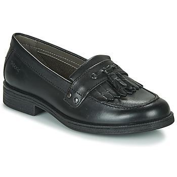 Čevlji  Deklice Čevlji Derby Geox JR AGATA A Črna