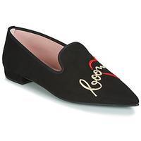 Čevlji  Ženske Balerinke Pretty Ballerinas  Črna