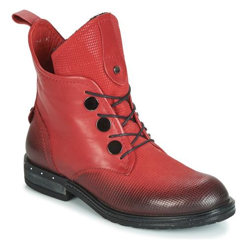 Čevlji  Ženske Polškornji Metamorf'Ose FABLE Rdeča