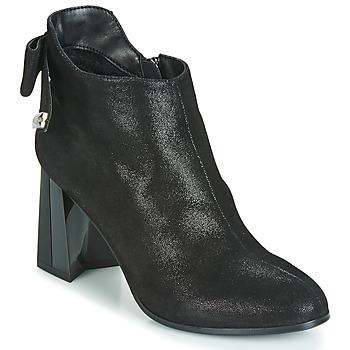 Čevlji  Ženske Gležnjarji Metamorf'Ose FANCHON Črna