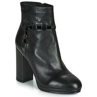 Čevlji  Ženske Gležnjarji Café Noir GLORIA Črna