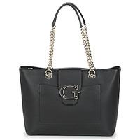 Torbice Ženske Nakupovalne torbe Guess CAMILA Črna
