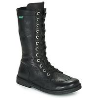 Čevlji  Ženske Mestni škornji    Kickers MEETKIKNEW Črna