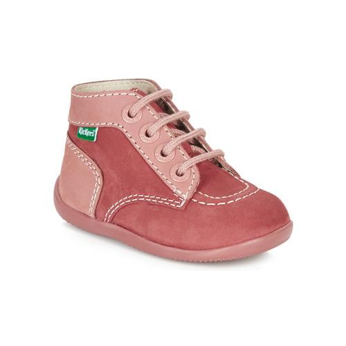 Čevlji  Deklice Polškornji Kickers BONBON Rožnata