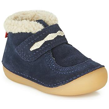 Čevlji  Otroci Polškornji Kickers SOETNIC Modra