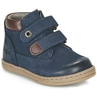 Čevlji  Dečki Polškornji Kickers TACKEASY Modra