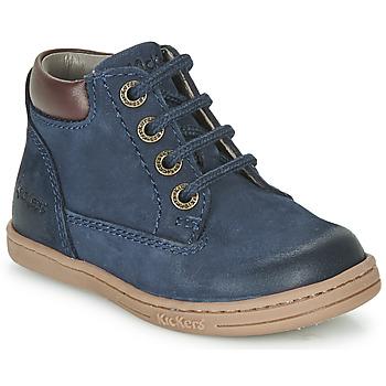 Čevlji  Dečki Polškornji Kickers TACKLAND Modra