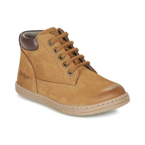 Čevlji  Dečki Polškornji Kickers TACKLAND Kamel
