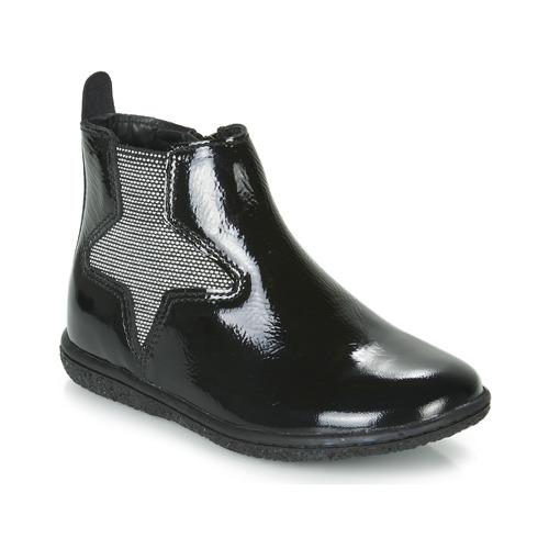 Čevlji  Deklice Polškornji Kickers VERMILLON Črna