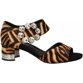 Čevlji  Ženske Sandali & Odprti čevlji Jeffrey Campbell BOLEYN JH HAIR tan