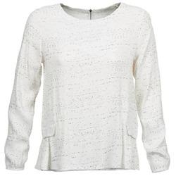 Oblačila Ženske Topi & Bluze See U Soon CABRINOU Bela
