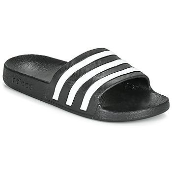 Čevlji  Natikači adidas Performance ADILETTE AQUA Črna / Bela