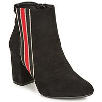 Čevlji  Ženske Gležnjarji Refresh 69113-BLACK Črna
