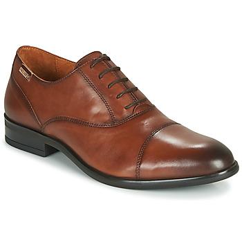 Čevlji  Moški Čevlji Richelieu Pikolinos BRISTOL M7J Kostanjeva