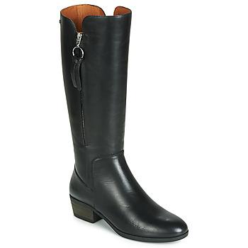 Čevlji  Ženske Mestni škornji    Pikolinos DAROCA W1U Črna