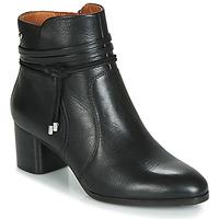 Čevlji  Ženske Gležnjarji Pikolinos CALAFAT W1Z Črna