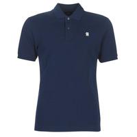 Oblačila Moški Polo majice kratki rokavi G-Star Raw DUNDA SLIM POLO Modra