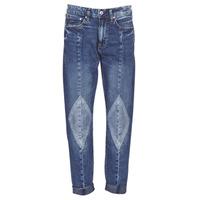 Oblačila Ženske Jeans boyfriend G-Star Raw 3301-L MID BOYFRIEND DIAMOND Modra / Svetla / Vintage / Vintage