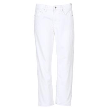 Oblačila Ženske Jeans boyfriend G-Star Raw 3301 MID BOYFRIEND 7/8 Bela