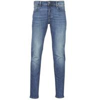 Oblačila Moški Kavbojke slim G-Star Raw 3301 SLIM Modra / Vintage / Vintage