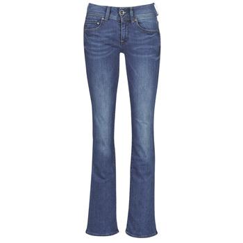 Oblačila Ženske Kavbojke bootcut G-Star Raw MIDGE MID BOOTCUT WMN Modra / Vybledlá / Modrá