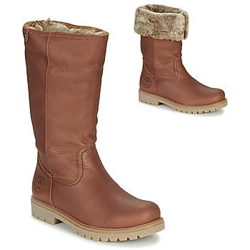 Čevlji  Ženske Mestni škornji    Panama Jack BAMBINA Kostanjeva